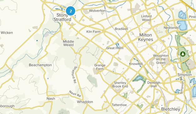 Milton Keynes, Milton Keynes Map