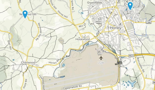 Map Of England Gatwick.Best Trails Near Gatwick Airport West Sussex England Alltrails