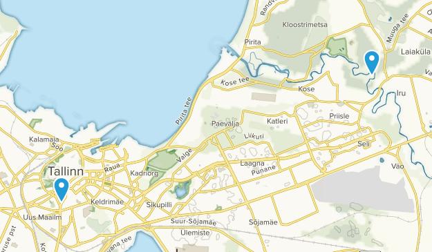Tallinn, Harjumaa Map