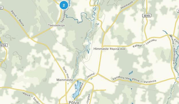 Saesaare, Põlvamaa Map