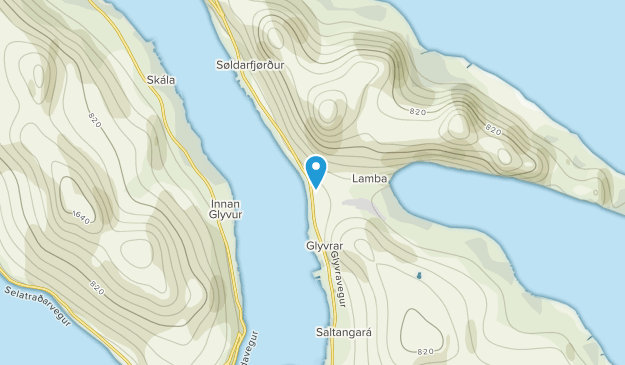 Lambareiði, Eysturoyar Map