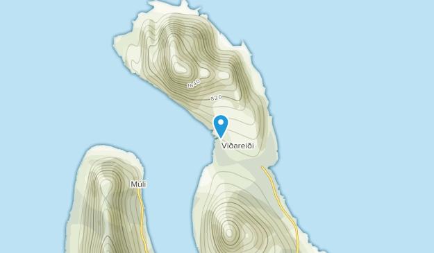 Vidareide, Eysturoyar Map