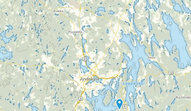 Jyväskylä, Keski-Suomi Map