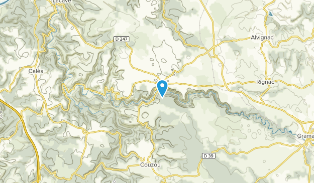 Rocamadour, France Map