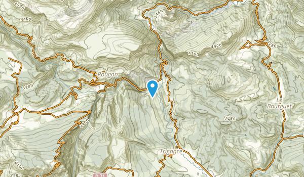 Trigance, Alpes-de-Haute-Provence Map