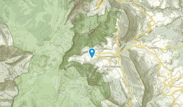 Chichilianne, Auvergne-Rhône-Alpes Map