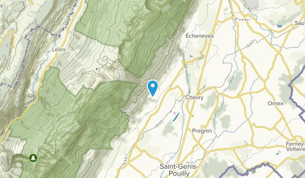 Crozet, Auvergne-Rhône-Alpes Map