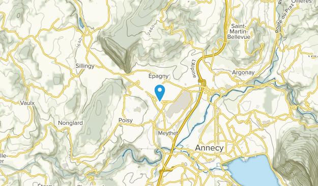 Epagny Metz-Tessy, Auvergne-Rhône-Alpes Map