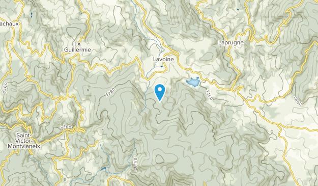 Lavoine, Auvergne-Rhône-Alpes Map