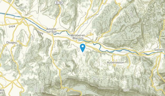 Piégros-la-Clastre, Auvergne-Rhône-Alpes Map