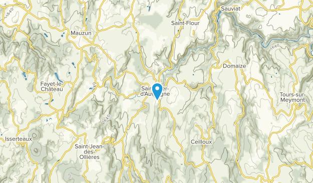 Saint-Dier-d'Auvergne, Auvergne-Rhône-Alpes Map