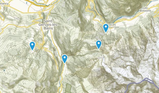 Saint-Gervais-Les-Bains, Auvergne-Rhône-Alpes Map