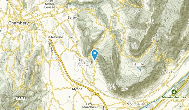 Saint-Jeoire-Prieure, Auvergne-Rhône-Alpes Map