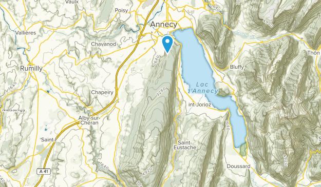 Viuz-La-Chiesaz, Auvergne-Rhône-Alpes Map