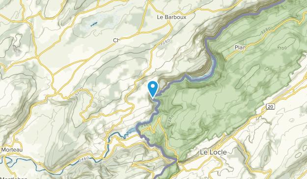 Villers-Le-Lac, Bourgogne-Franche-Comté Map