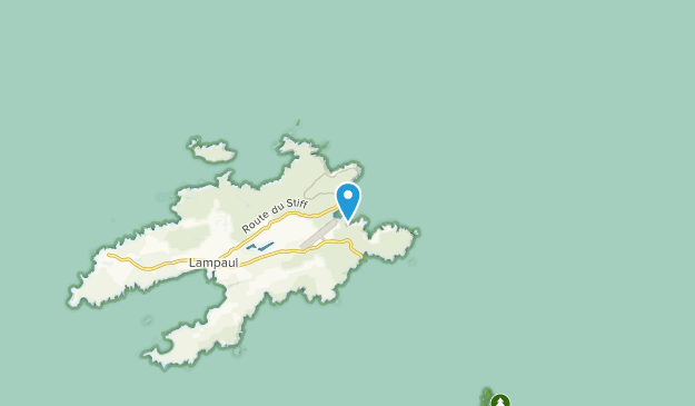 Le Stiff, Brittany Map