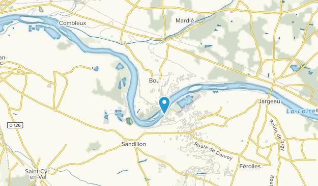 Bou, Centre-Val de Loire Map