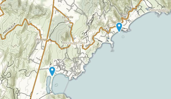 Precoggio, Corse-du-Sud Map