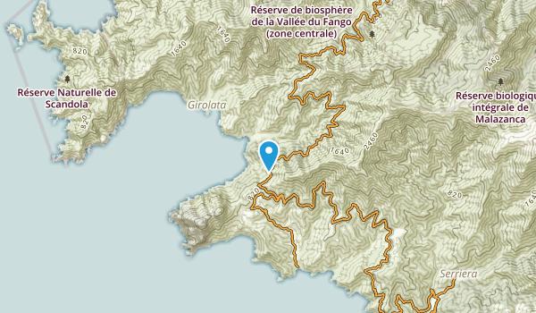 Tuara, Corse-du-Sud Map