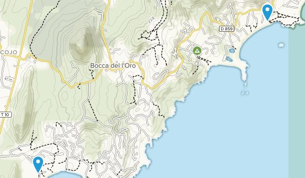 Precoggio, Corsica Map