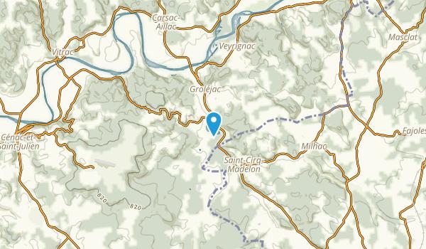 Grolejac, Dordogne Map