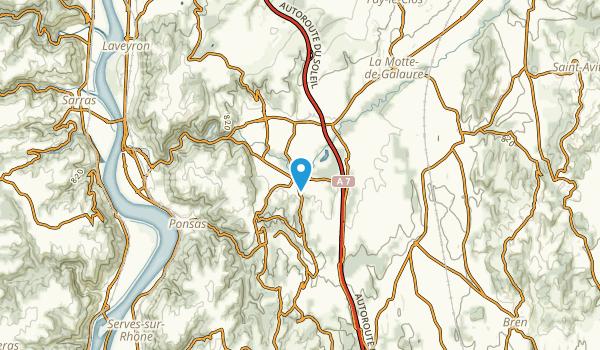 Saint-Barthelemy-De-Vals, Drôme Map