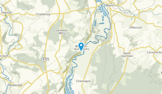 Mangonville, Grand Est Map