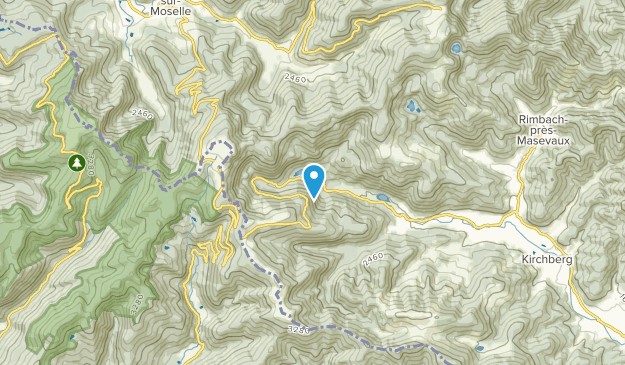 Sewen, Grand Est Map