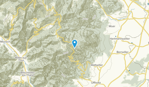 Wattwiller, Grand Est Map