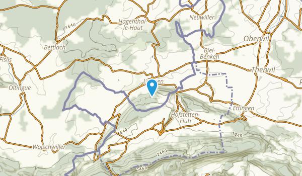 Leymen, Haut-Rhin Map