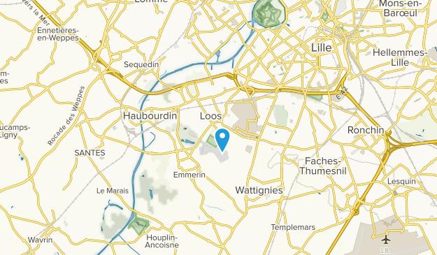 Loos, Hauts-de-France Map