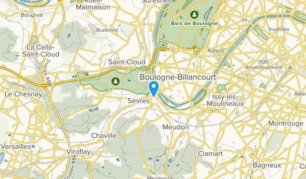 Sèvres, Hauts-de-Seine Map