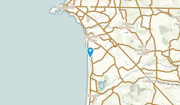 Saint-Pair-sur-Mer, Manche Map