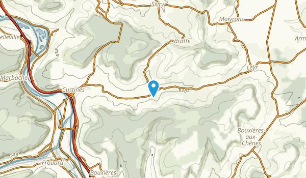 Faulx, Meurthe-et-Moselle Map