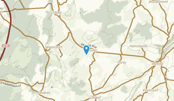Goviller, Meurthe-et-Moselle Map