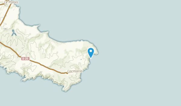 Locmaria, Morbihan Map