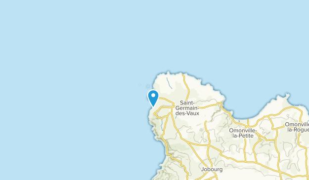 Auderville, Normandy Map
