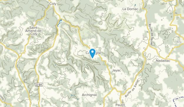 La Cassagne, Nouvelle-Aquitaine Map