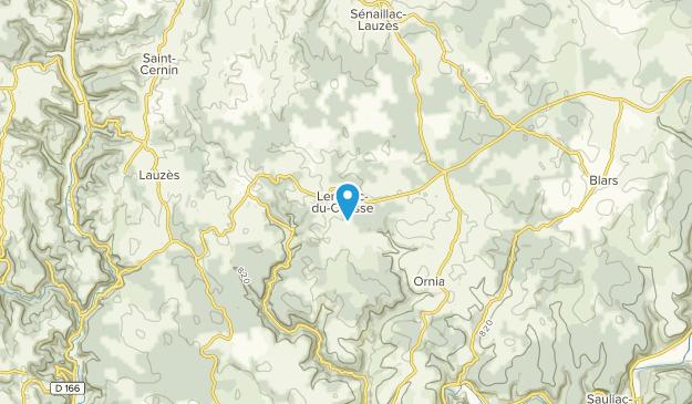 Lentillac-Du-Causse, Nouvelle-Aquitaine Map
