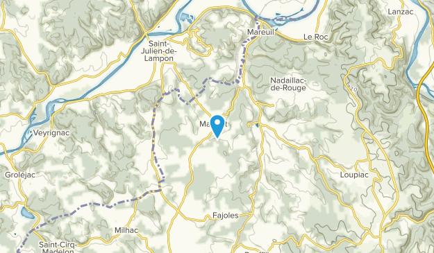 Masclat, Nouvelle-Aquitaine Map