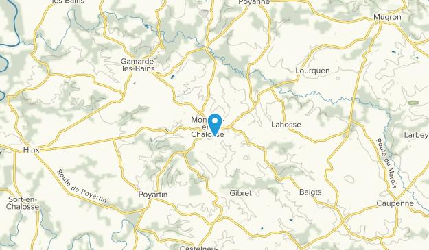 Montfort-en-Chalosse, Nouvelle-Aquitaine Map