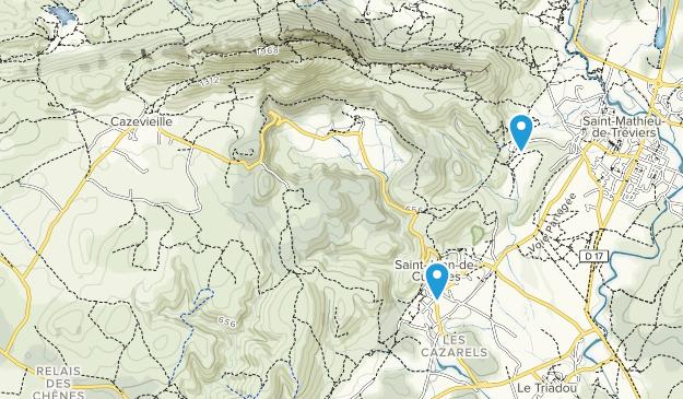 Cazevieille, Occitanie Map