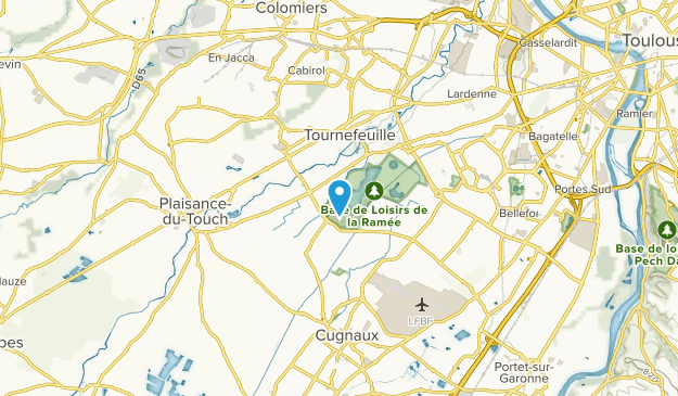 Tournefeuille, Occitanie Map