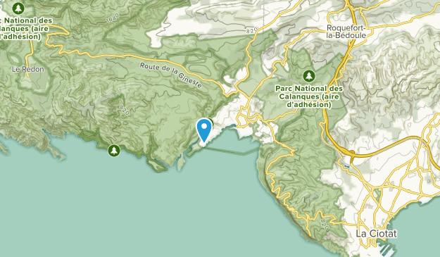 Cassis, Provence-Alpes-Côte d'Azur Map