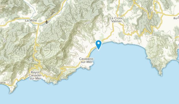 Cavalaire-sur-Mer, Provence-Alpes-Côte d'Azur Map