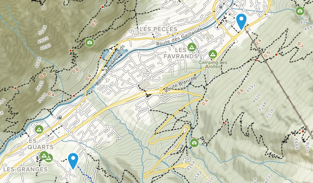Chamonix-Mont-Blanc, Provence-Alpes-Côte d'Azur Map