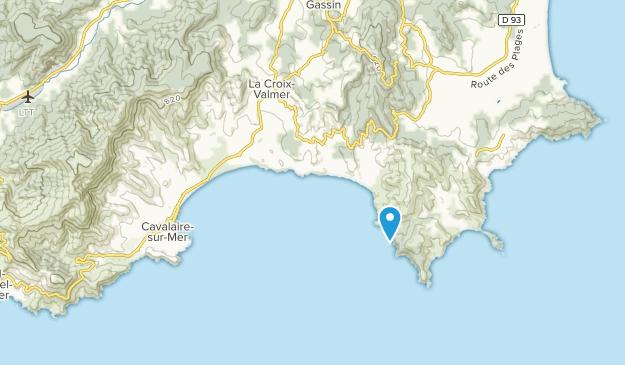 La Croix-Valmer, Provence-Alpes-Côte d'Azur Map