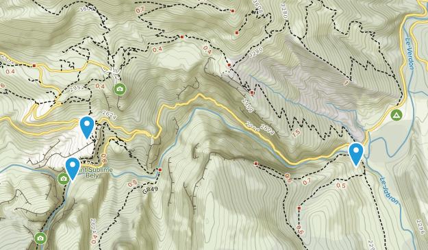 Rougon, Provence-Alpes-Côte d'Azur Map