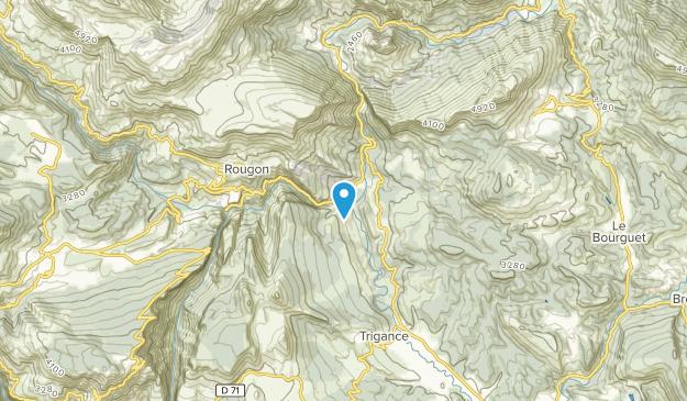 Trigance, Provence-Alpes-Côte d'Azur Map