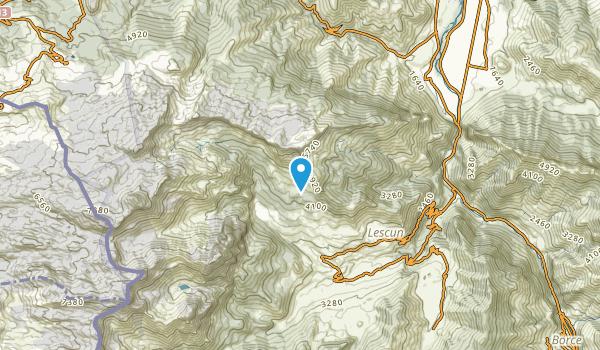 Lescun, Pyrénées-Atlantiques Map